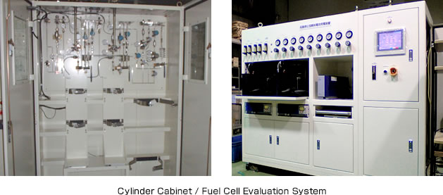 Cylinder Cabinet / Test Simulation Equipment for Nuclear Power Plant