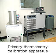 Primary thermometry calibration apparatus